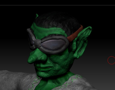 Goblin - dissertation game character model 03