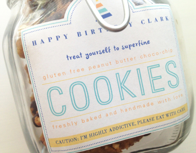 Birthday Cookie Jar Package