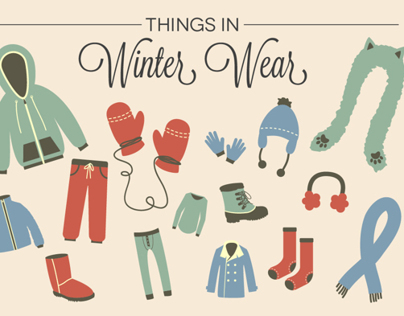 Things in Winter Wear (GIF)