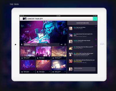 MTV Concert Tour App