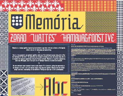 Memoria Font