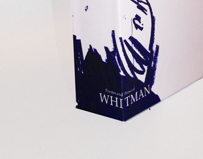 WALT WHITMAN BOOK JACKET AND SLEEVE