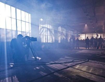 "Making of - Fight in TV show ""Pierwsza Miłość"", 2012"