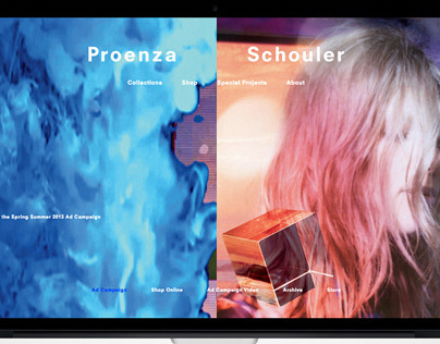 Proenza Schouler Website