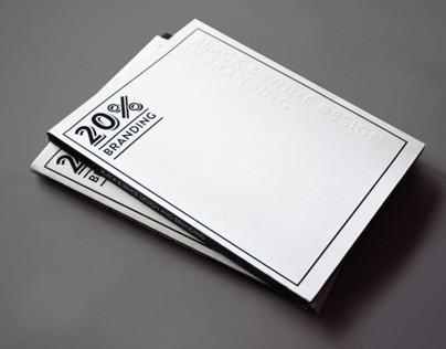 Black & white branding - Magazine