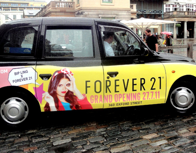 Forever 21 London Launch