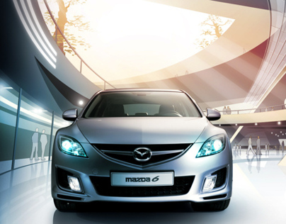 Mazda 6 - Brochure Illustrations