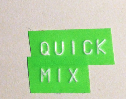 Quick Mix (tv, branded content, street MK...)