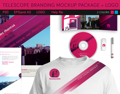 Telescope Branding Package