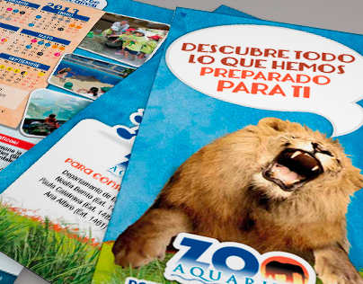 Propuestas Folleto Escolar Zoo Madrid