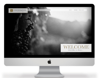 Website Redesign for Signorello Estate