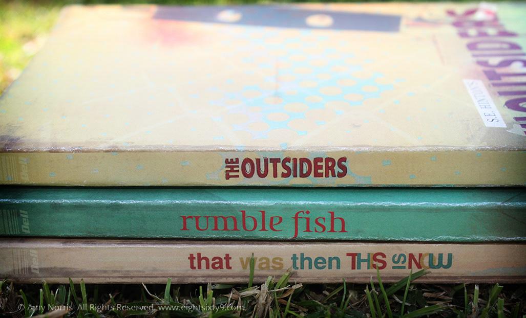 S.E. Hinton Book Cover Collective