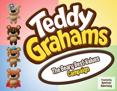 Advertising Campaign for Teddy Grahams