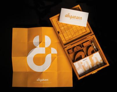 ALIGARAM TYPEFACE & BOARD GAME