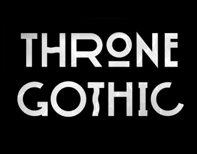 Throne Gothic - Typeface