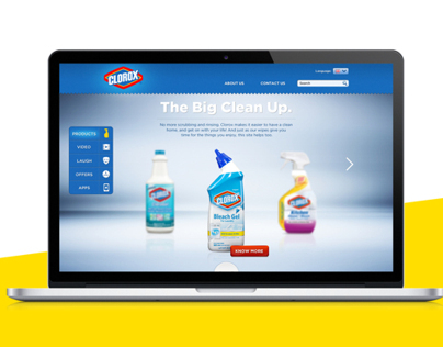 Clorox website pitch