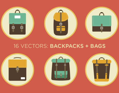 Backpacks and Bags (GIF)