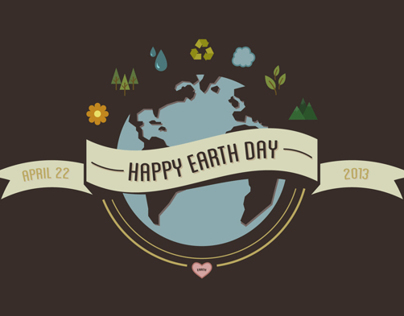 Happy Earth Day Wallpaper