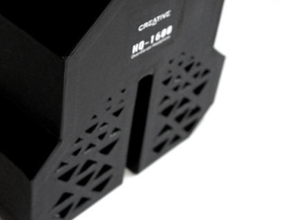 Creative HQ1600 Headphone Packaging