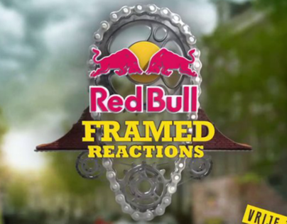 Red Bull Framed Reactions