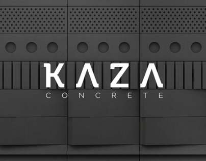 Kaza Concrete | Corporate identity