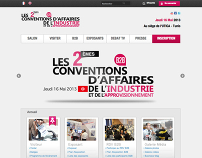 Les conventions d'affaires de l'industrie