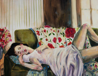 Girl Lounging, 2012