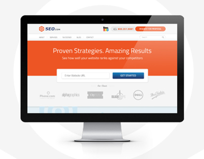 Makeover of #1 Search Engine Optimization Site SEO.com