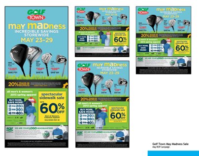 Golf Town May Madness Sale