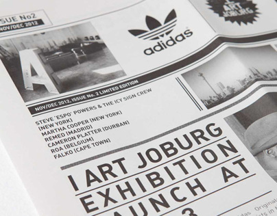 adidas Originals | I ART JOBURG Newspapers