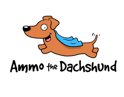 Logo for Ammo the Dachshund
