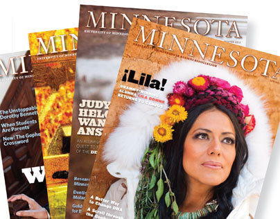 Selected Spreads from Minnesota Magazine