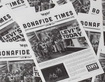 Levis® Vintage Clothing | Bonafide Times Newspaper