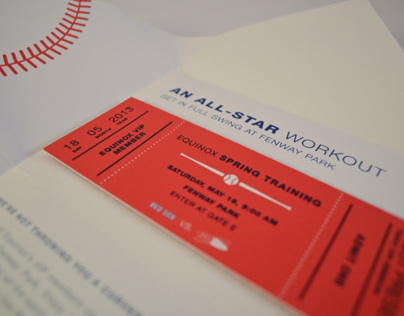 Equinox Red Sox Invitation