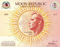 Banknotes of  the Moon Republic