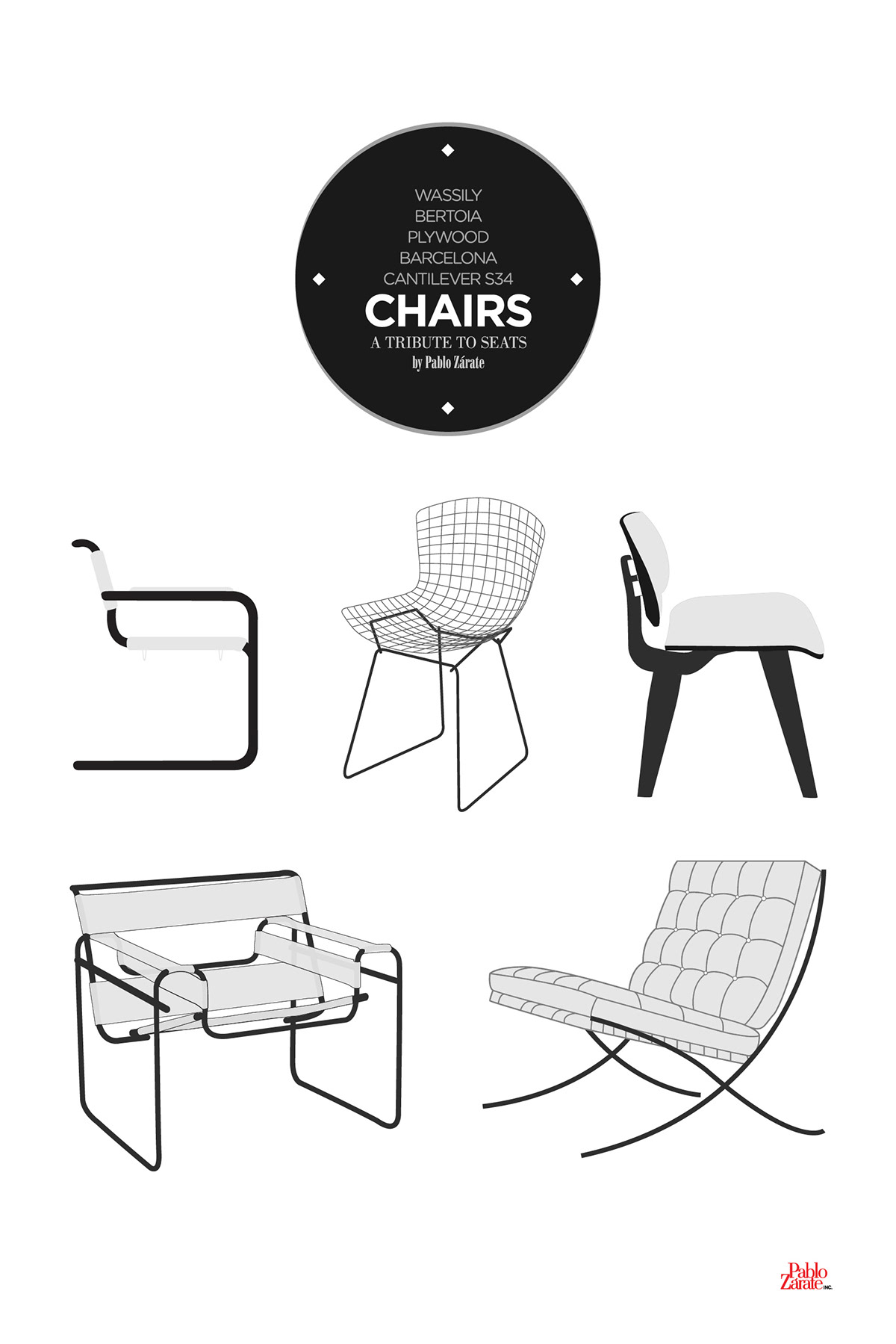 CHAIRS – A tribute to seats