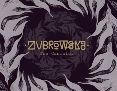 Zubrowska - The Canister - cd artwork
