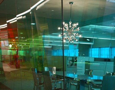Chroma Colored Transparent Glass Films