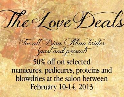 Bina Khan Valentine Deals