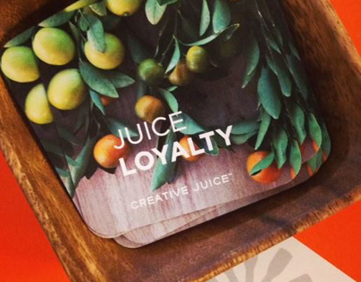 Creative Juice Loyalty Cards