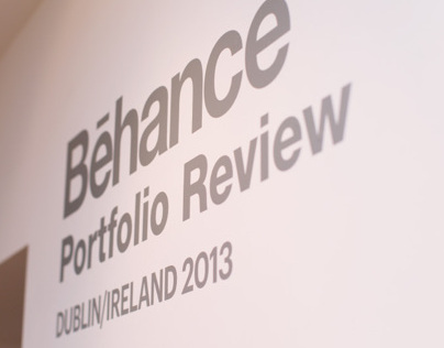 Behance Portfolio Review Ireland