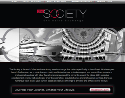 In The Society Website