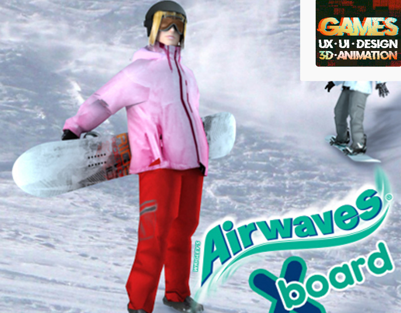 AIRWAVES X-board  (KINECT videogame)