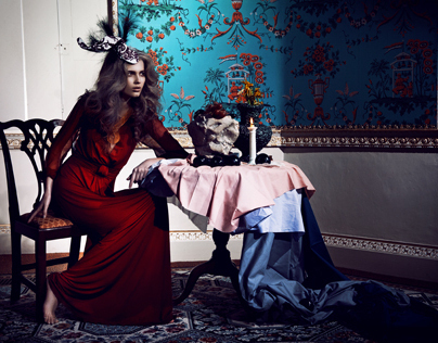 Lady of the Manor for Hunger Magazine Online