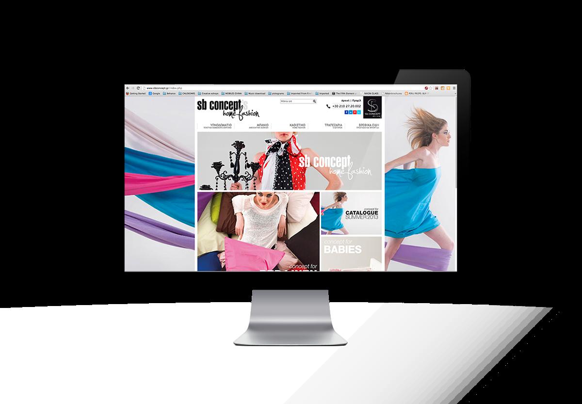 SB CONCEPT official site design