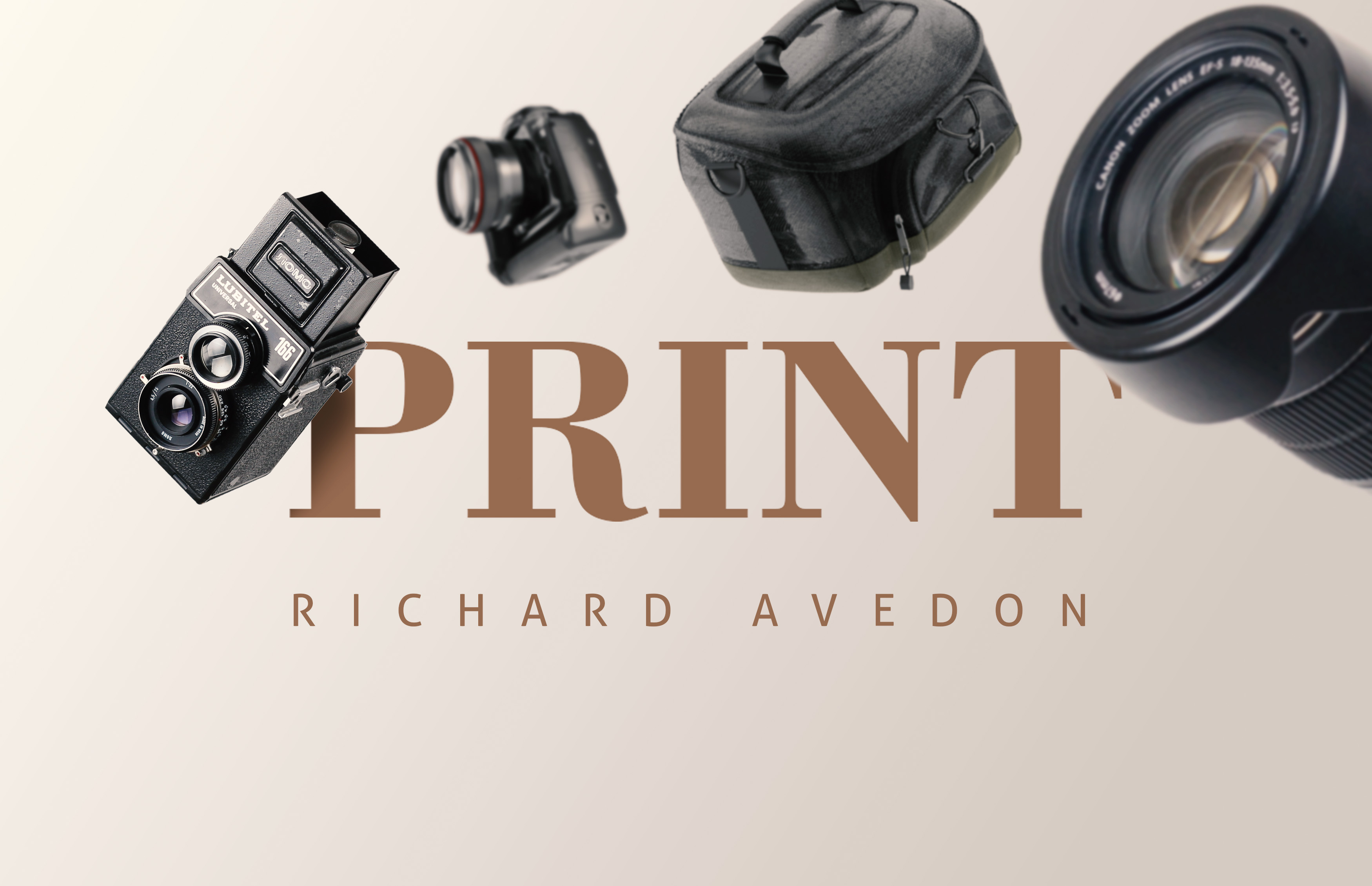 Portrait of a photographer   Richard Avedon