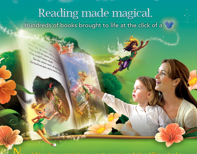 Disney Digital Books Campaign