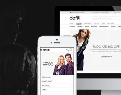 Dafiti Redesign