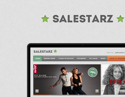 SaleStarz Homepage