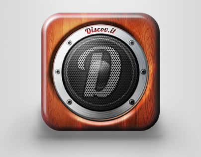 iOS icon for music based application